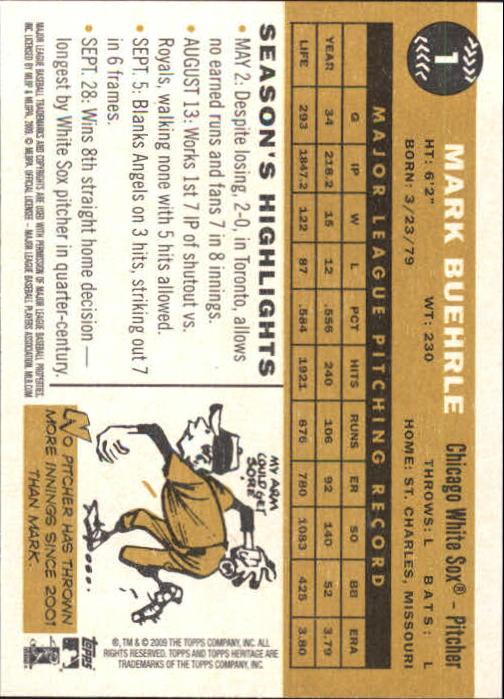 2009-Topps-Heritage-Baseball-Base-Singles-1-149-Pick-Your-Cards thumbnail 3