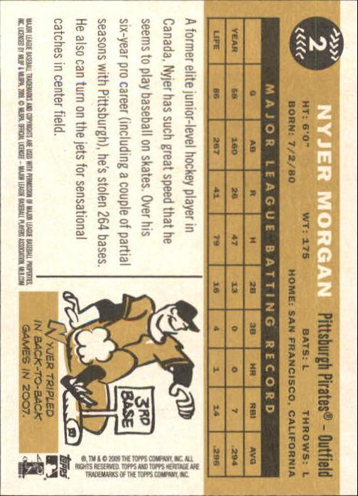 2009-Topps-Heritage-Baseball-Base-Singles-1-149-Pick-Your-Cards thumbnail 5