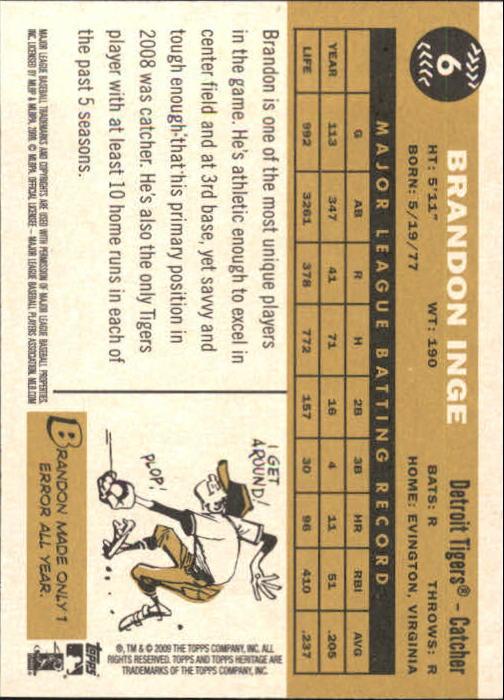 2009-Topps-Heritage-Baseball-Base-Singles-1-149-Pick-Your-Cards thumbnail 11
