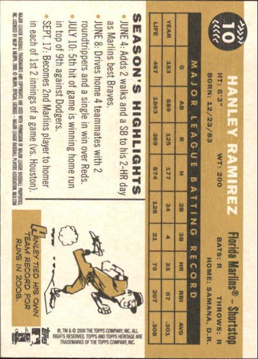 2009-Topps-Heritage-Baseball-Base-Singles-1-149-Pick-Your-Cards thumbnail 17