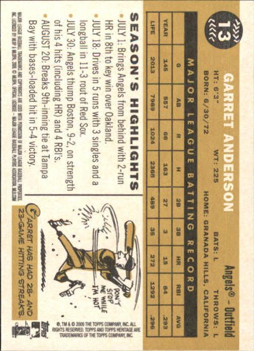 2009-Topps-Heritage-Baseball-Base-Singles-1-149-Pick-Your-Cards thumbnail 23