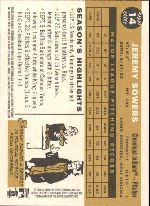 2009-Topps-Heritage-Baseball-Base-Singles-1-149-Pick-Your-Cards thumbnail 25
