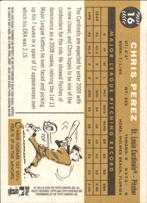 2009-Topps-Heritage-Baseball-Base-Singles-1-149-Pick-Your-Cards thumbnail 27