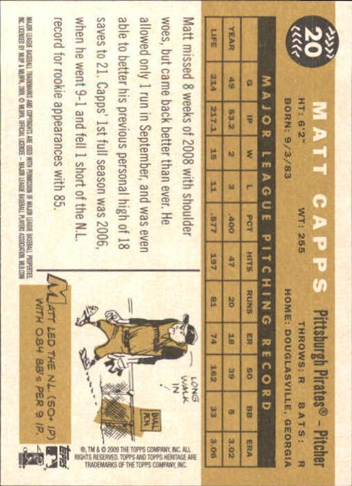 2009-Topps-Heritage-Baseball-Base-Singles-1-149-Pick-Your-Cards thumbnail 35