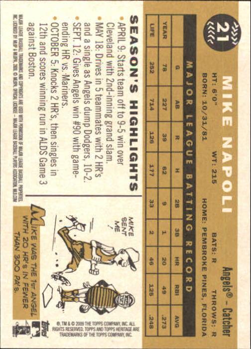 2009-Topps-Heritage-Baseball-Base-Singles-1-149-Pick-Your-Cards thumbnail 37
