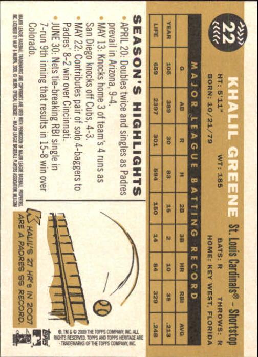 2009-Topps-Heritage-Baseball-Base-Singles-1-149-Pick-Your-Cards thumbnail 39