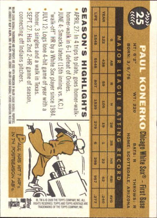 2009-Topps-Heritage-Baseball-Base-Singles-1-149-Pick-Your-Cards thumbnail 43
