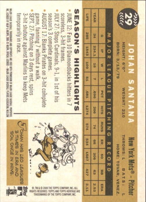 2009-Topps-Heritage-Baseball-Base-Singles-1-149-Pick-Your-Cards thumbnail 51