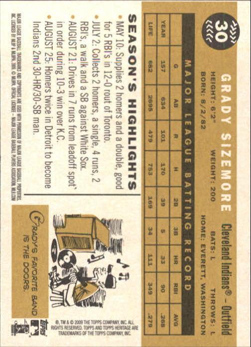 2009-Topps-Heritage-Baseball-Base-Singles-1-149-Pick-Your-Cards thumbnail 53