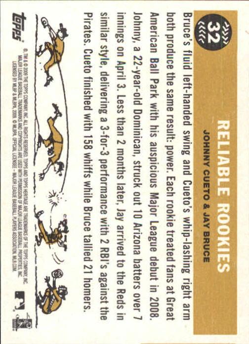 2009-Topps-Heritage-Baseball-Base-Singles-1-149-Pick-Your-Cards thumbnail 55
