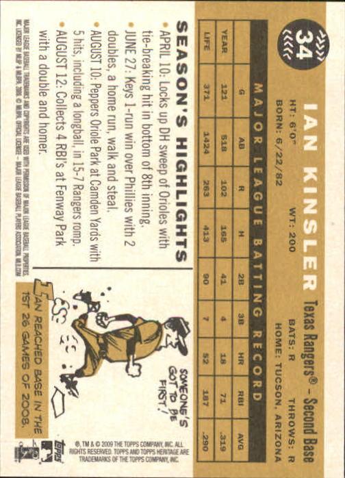 2009-Topps-Heritage-Baseball-Base-Singles-1-149-Pick-Your-Cards thumbnail 59