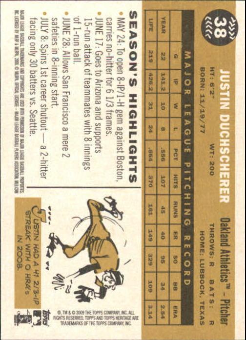 2009-Topps-Heritage-Baseball-Base-Singles-1-149-Pick-Your-Cards thumbnail 65
