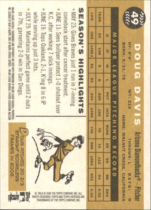 2009-Topps-Heritage-Baseball-Base-Singles-1-149-Pick-Your-Cards thumbnail 81