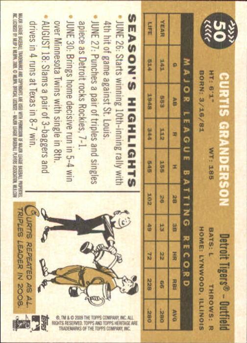 2009-Topps-Heritage-Baseball-Base-Singles-1-149-Pick-Your-Cards thumbnail 83