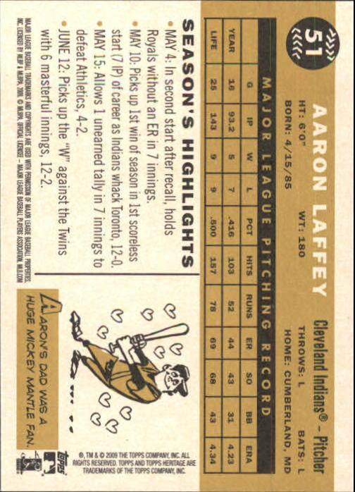 2009-Topps-Heritage-Baseball-Base-Singles-1-149-Pick-Your-Cards thumbnail 85