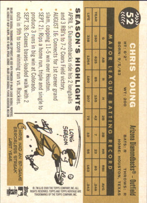 2009-Topps-Heritage-Baseball-Base-Singles-1-149-Pick-Your-Cards thumbnail 87