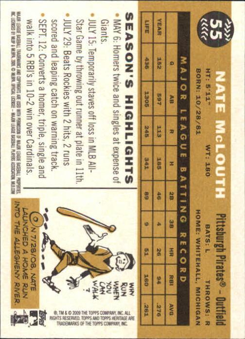 2009-Topps-Heritage-Baseball-Base-Singles-1-149-Pick-Your-Cards thumbnail 89