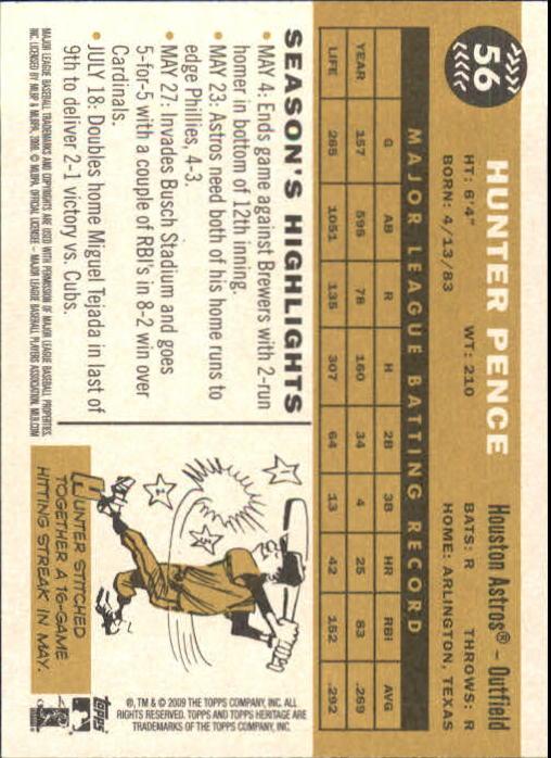 2009-Topps-Heritage-Baseball-Base-Singles-1-149-Pick-Your-Cards thumbnail 91