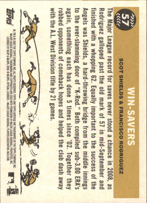 2009-Topps-Heritage-Baseball-Base-Singles-1-149-Pick-Your-Cards thumbnail 93
