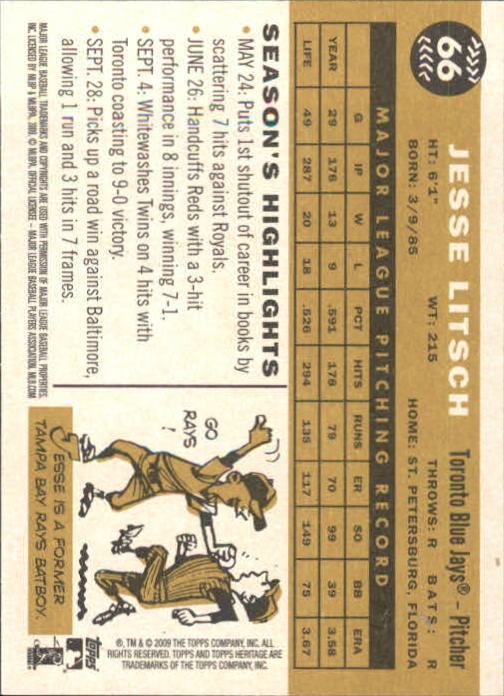 2009-Topps-Heritage-Baseball-Base-Singles-1-149-Pick-Your-Cards thumbnail 101