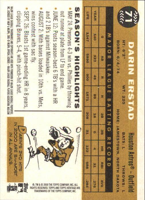 2009-Topps-Heritage-Baseball-Base-Singles-1-149-Pick-Your-Cards thumbnail 109