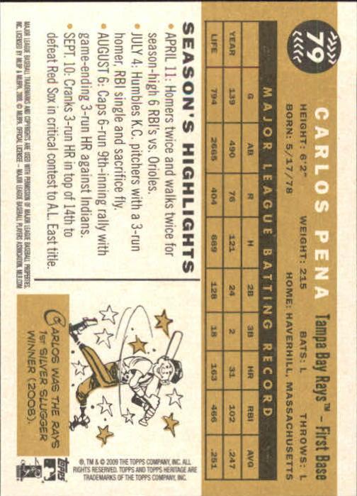 2009-Topps-Heritage-Baseball-Base-Singles-1-149-Pick-Your-Cards thumbnail 123