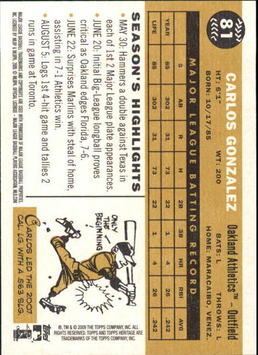 2009-Topps-Heritage-Baseball-Base-Singles-1-149-Pick-Your-Cards thumbnail 127