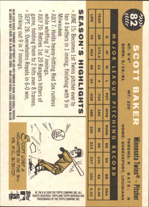 2009-Topps-Heritage-Baseball-Base-Singles-1-149-Pick-Your-Cards thumbnail 129