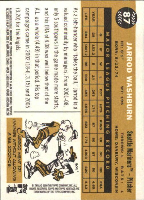 2009-Topps-Heritage-Baseball-Base-Singles-1-149-Pick-Your-Cards thumbnail 133