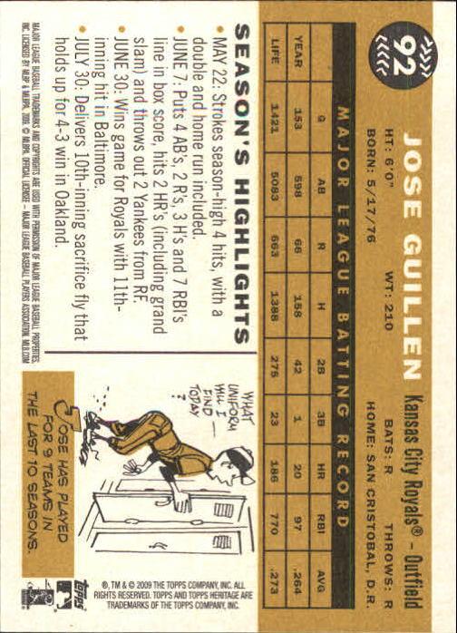 2009-Topps-Heritage-Baseball-Base-Singles-1-149-Pick-Your-Cards thumbnail 141