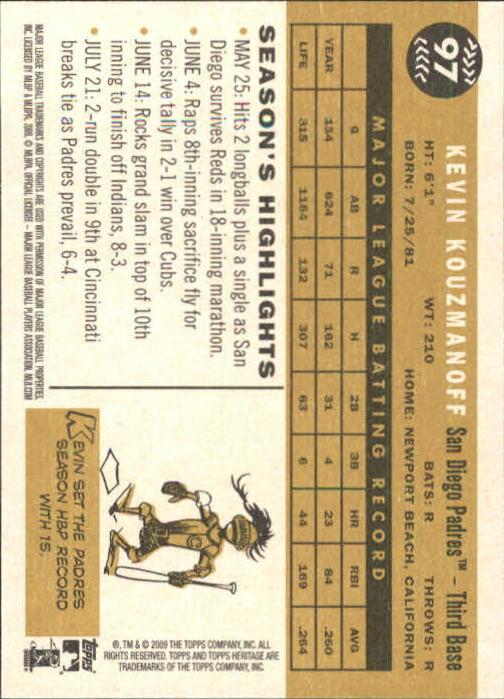 2009-Topps-Heritage-Baseball-Base-Singles-1-149-Pick-Your-Cards thumbnail 147