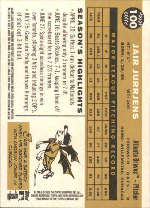 2009-Topps-Heritage-Baseball-Base-Singles-1-149-Pick-Your-Cards thumbnail 151