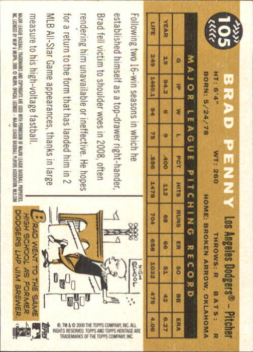 2009-Topps-Heritage-Baseball-Base-Singles-1-149-Pick-Your-Cards thumbnail 161