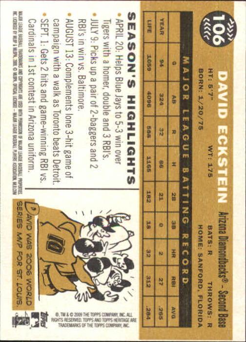 2009-Topps-Heritage-Baseball-Base-Singles-1-149-Pick-Your-Cards thumbnail 163