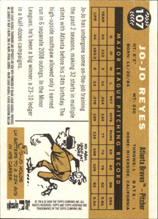 2009-Topps-Heritage-Baseball-Base-Singles-1-149-Pick-Your-Cards thumbnail 165