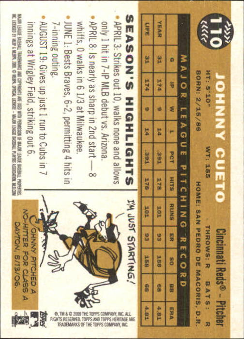 2009-Topps-Heritage-Baseball-Base-Singles-1-149-Pick-Your-Cards thumbnail 171