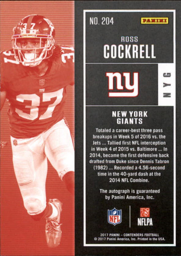 2017-Panini-Contenders-Football-Rookie-Autograph-Singles-Pick-Your-Cards thumbnail 23