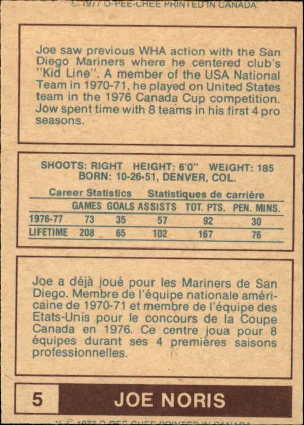 1977-78-O-Pee-Chee-WHA-Hockey-Base-Singles-Pick-Your-Cards miniature 3