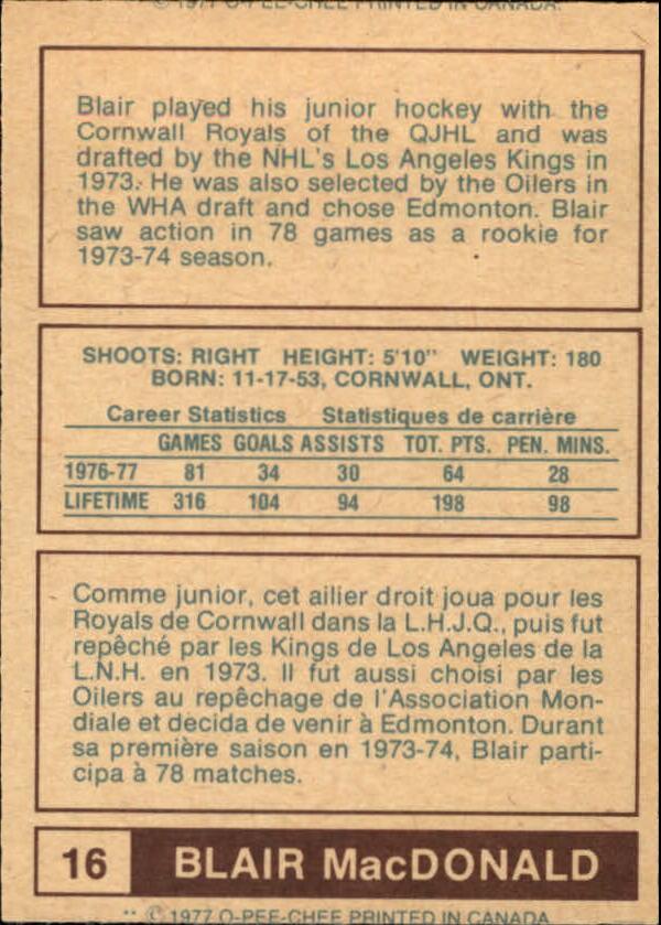 1977-78-O-Pee-Chee-WHA-Hockey-Base-Singles-Pick-Your-Cards miniature 7