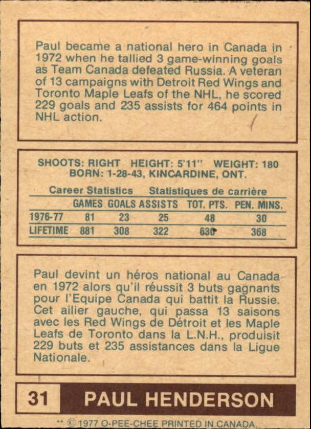 1977-78-O-Pee-Chee-WHA-Hockey-Base-Singles-Pick-Your-Cards miniature 9