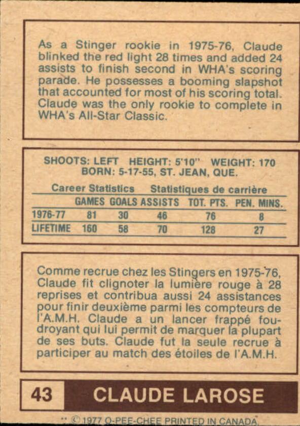 1977-78-O-Pee-Chee-WHA-Hockey-Base-Singles-Pick-Your-Cards miniature 15