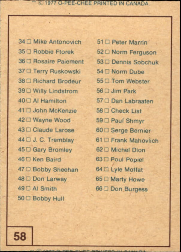 1977-78-O-Pee-Chee-WHA-Hockey-Base-Singles-Pick-Your-Cards miniature 17