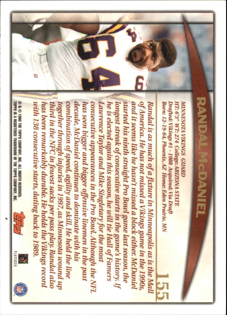 1998-Topps-Football-Base-Singles-119-347-Pick-Your-Cards thumbnail 59