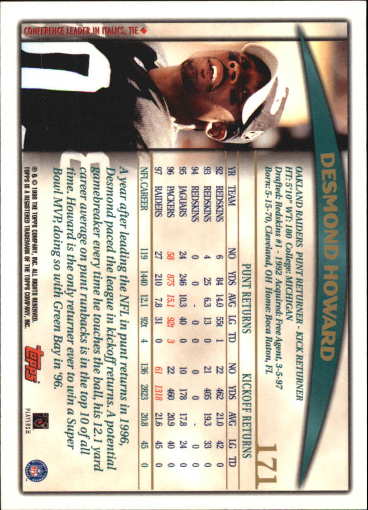 1998-Topps-Football-Base-Singles-119-347-Pick-Your-Cards thumbnail 87