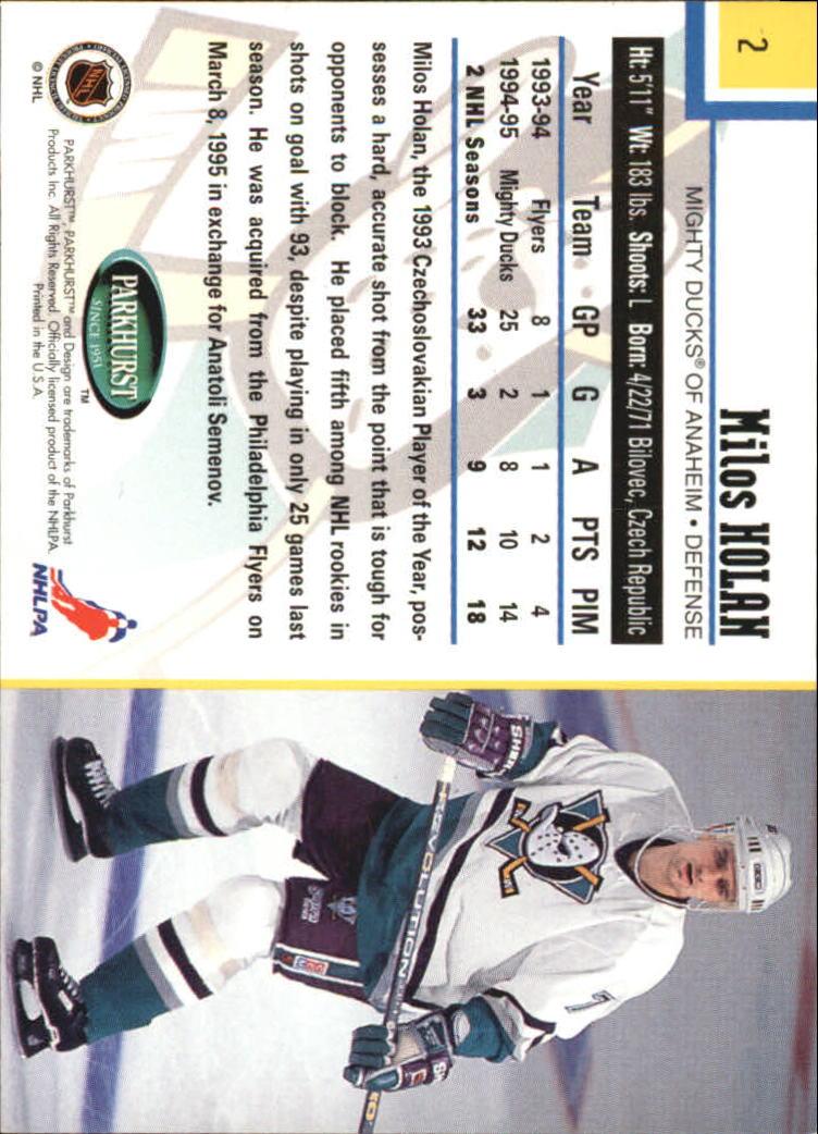 1995-96-Parkhurst-International-Hockey-Base-Singles-1-250-Pick-Your-Cards thumbnail 3
