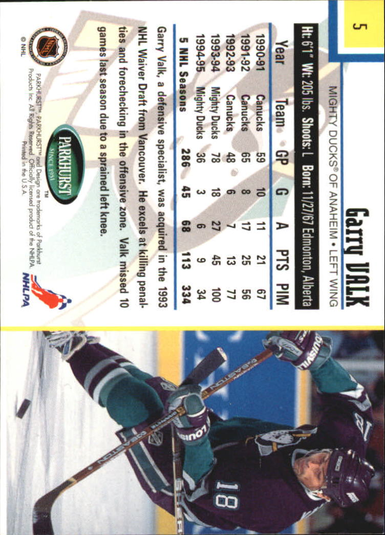 1995-96-Parkhurst-International-Hockey-Base-Singles-1-250-Pick-Your-Cards thumbnail 9