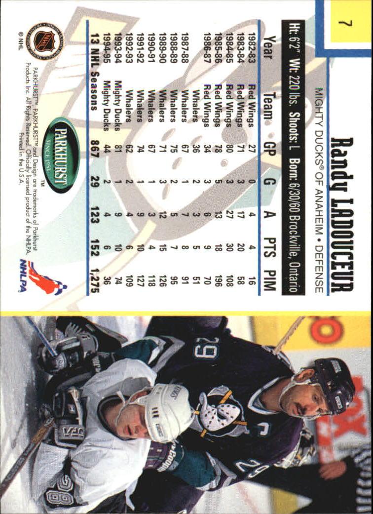 1995-96-Parkhurst-International-Hockey-Base-Singles-1-250-Pick-Your-Cards thumbnail 11
