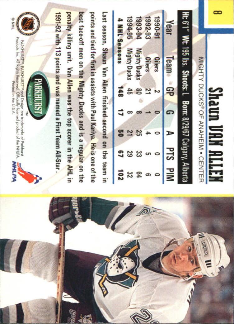1995-96-Parkhurst-International-Hockey-Base-Singles-1-250-Pick-Your-Cards thumbnail 13