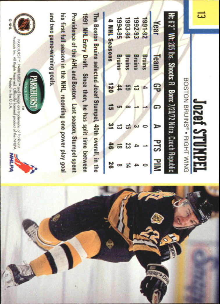 1995-96-Parkhurst-International-Hockey-Base-Singles-1-250-Pick-Your-Cards thumbnail 23