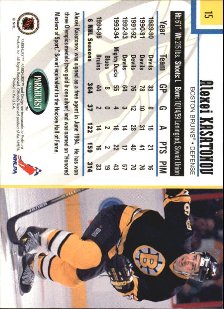 1995-96-Parkhurst-International-Hockey-Base-Singles-1-250-Pick-Your-Cards thumbnail 27